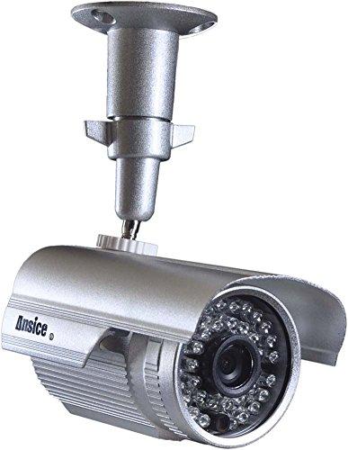 Tag Nacht 36Infrarot LEDs CCTV Kamera Sony Color CCD 420TVL Weitwinkel 3,6mm Bullet Sicherheit Kamera CCTV Home Überwachungskamera Outdoor IR-Bullet mit Halterung (Outdoor Nacht Kamera Sicherheit)