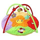 YxFlower Gimnasio-Piano pataditas/Alfombra de Juego Infantil/Play Mat for Kids/Manta Bebe/Piano de Juguete para niños - Sunflower