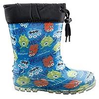 Sanbe 901P4701 Yağmur Su Geçirmez Kız/Erkek Çocuk Çizme SAKS