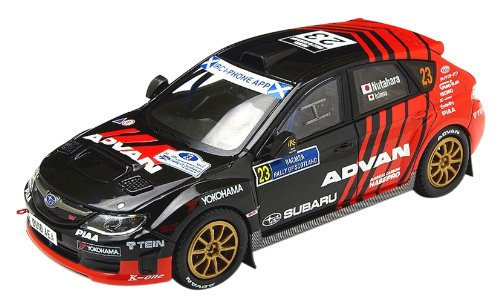 IXO 1/43 Subaru Impreza WRX STI R4 2011 Rally of Scotland (japan import)