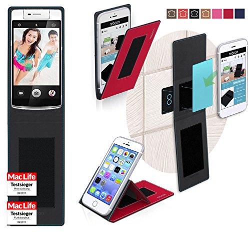 reboon Hülle für Oppo N3 Tasche Cover Case Bumper | Rot | Testsieger