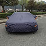 GLJY Car Cover Limousine, Double-Layer Plus Baumwollkleidung, Allwetterschutz,Gray