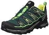 SALOMON L39184000, Stivali da Escursionismo Uomo, Verde/Nero Black/Gecko Green, 43 1/3 EU