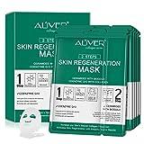 Paquete de 5 mascarillas faciales hidratantes,rejuvenecedoras de colágeno,esencia...