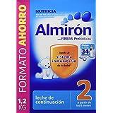 Almirón Leche en polvo 6m+ - Paquete de 3 x 400 gr - Total: 1200 gr