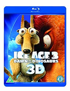Ice Age 3: Dawn of the Dinosaurs (Blu-ray 3D + Blu-ray + DVD + Digital Copy)