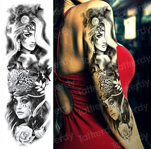EROSPA® Tattoo-Bogen temporär - Oberarm / Unterarm - Frauen Männer - Wasserfest