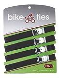 Arno - Sangles vélo - Bike ties - 4 pcs - Noir