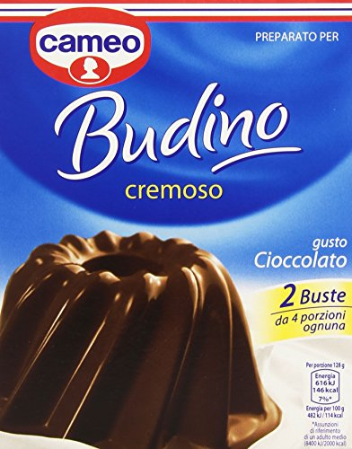 Budino al Cioccolato - Chocolate Pudding Cameo (2x90g)
