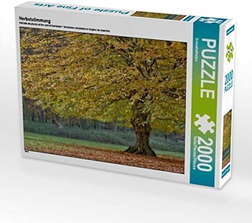 CALVENDO Puzzle Herbststimmung 2000 2000 2000 Teile Lege-Grösse 90 x 67 cm Foto-Puzzle Bild Von | Aspect élégant  1033a4