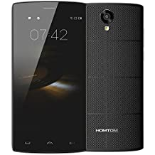 "HOMTOM HT7 3G WCDMA -Smartphone Android 5.1 Celular (Quad Core, 5.5"" Pantalla,1GB ,8GB ROM, Dual Cámara 5MP+8MP)"