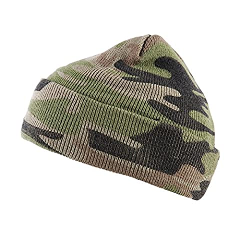 Commandement casquette uS army camouflage-woodland chaud bonnet taille