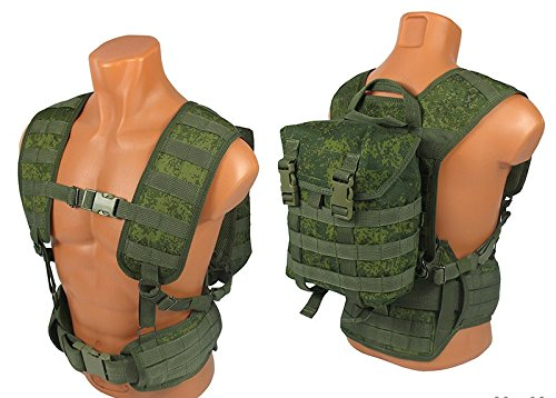 MOLLE TACTICAL Rucksack Molle-Tasche Airsoft Jagd Paintball EMR pixel