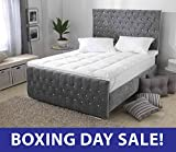 Premium New Deep KING SIZE 3D Embossed Mattress Topper With Relaxing Massage Bubbles, Box Stitched & Elasticated Corner Straps from Lancashire Bedding