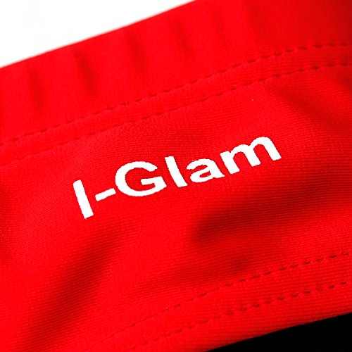 I-Glam ogni occasione nuovo breve sexy Swim Trunks Red