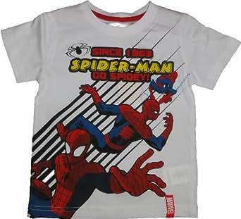 Marvel Spiderman T-Shirt Weiß in Gr. 98