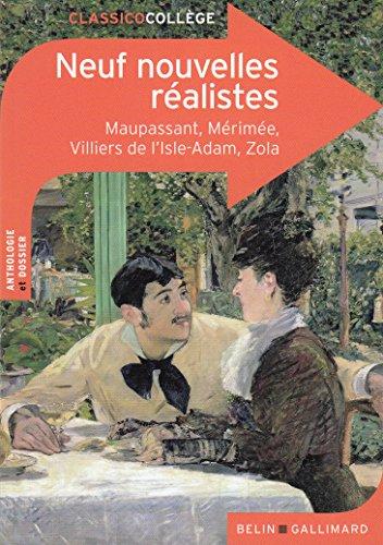 Neuf nouvelles réalistes (Classicocollège) por Collectifs