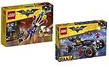 Lego ® Batman Set -70905 Batman Movie: Das Batmobil und 70900 Jokers Flucht mit den Ballons - Batman