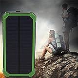 300000MAH Wasserdichte Solar Power External Power Bank mit LED-Licht für Mobiltelefone mit Kabel für iPhone für Samsu