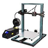 SainSmart x Creality CR-10S 3D-Drucker vormontiert, Dual Z-Achse, hohe Präzision mit beheiztem Druckbett, große Druckgröße 300x300x400mm (CR-10S)