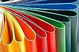 PVC Planen LKW-Planenreste Reste 500-950 g/m² für Taschen aus LKW PVC - Verschiedene Farben (200ml Kleber)