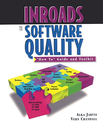 Inroads to Software Quality: How to Guide and Toolkit (Political Economy of Inst. & Decisions)