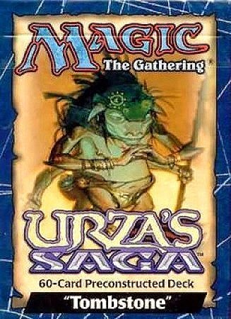 Magic the Gathering Urza's Saga Edition Tombstone Precon Theme Deck by wizards