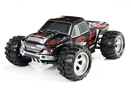 RC Auto Vortex A979 1:18 RTR 4WD 2.4GHz 50kmh (schwarz-rot) - A979 (MH291030)