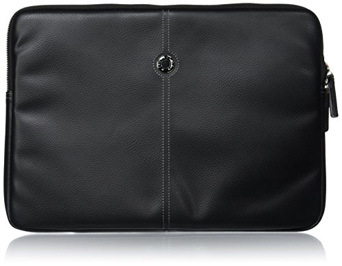 "Façonnable cuciture 33,02 (13"") cm per MacBook, colore: nero"