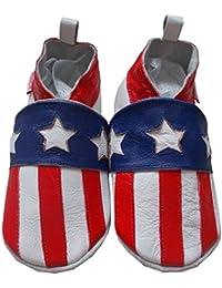 bbkdom - « Balboa » Chaussons cuir souple bébé et enfant