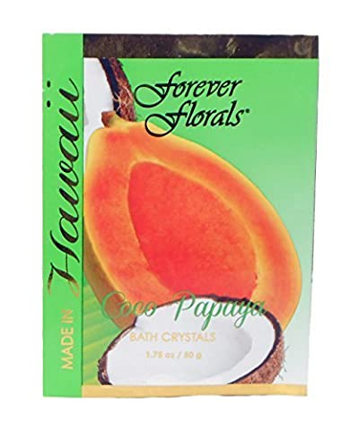 Hawaiian Bath Crystals Forever Florals Coco Papaya 8 Pack by Forever Florals (Hawaiian Bath Crystals)