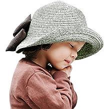 ARAUS Sombreros de Paja de Sol Playa Gorra de Bola Ala Ancho Protector  Visera de Verano aeabc979626