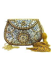 a6be5bfbf Gannu Bolsa de fiesta para mujer Boda Caja de embrague para mujer Shell  bolso de embrague
