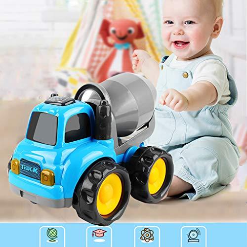 Mitlfuny Auto-Modell Plüsch Bildung Squishy Spielzeug aufblasbares Spielzeug im Freien Spielzeug,Baby-Kleinkinder drücken und gehen Friction Powered Car Toys für Jungen Mädchen ab 18 Monaten -