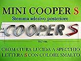 Mini Cooper S Stemma SD One Cabrio Clubman PACEMAN Badge Emblema Scritta Logo