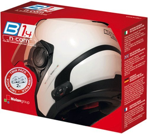 Nolan N-Com - Intercomunicador para moto, Bluetooth, para B1.4 TWIN N104 Absolute/N104...