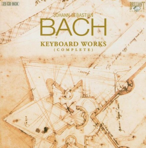 Preisvergleich Produktbild Johann Sebastian Bach: Sämtliche Klavierwerke / Cembalowerke / Complete Keyboard Works