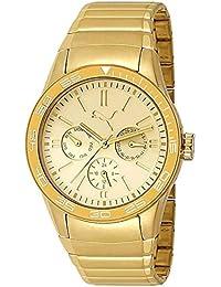 Puma PU102822003 - Reloj para mujeres color dorado