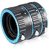Neewer–Juego de tubos de extensión macro Autofoco para objetivo réflex y réflex digital Canon EOS, Extreme Close de UPS