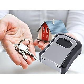 Sinbide® Schlüsseltresor| Schlüsselkasten| Key Lock Box| Sicherheits-Schlüsselkastenfür Wandmontage| Wand-Schlüsselbox| Schlüsselsafe| Wandtresore Wandtresor kaufen Schlüsseltresor aussenbereich