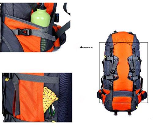 Borsa Da Viaggio Multifunzionale Borsa Da Viaggio Da 80 Litri,Yellow Orange