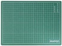 MAPED - tapis de découpe, format A3, (L)420 x (P)297 x (H)3 mmstructure en PVC en 3 couches, impression en grille, adapté à une utilisation avec des cutters, scal