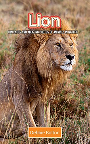 Lion: Fun Facts and Amazing Photos of Animals in Nature (English Edition) -
