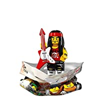 Lego The Ninjago Movie GONG AND GUITAR ROCKER Minifigure (#17/20) - Bagged 71019
