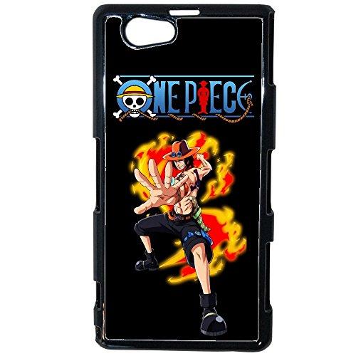 Ai Prezzi cannoni–Etui Custodia Cover Ace One Piece Swag Sony Xperia Z1Compact