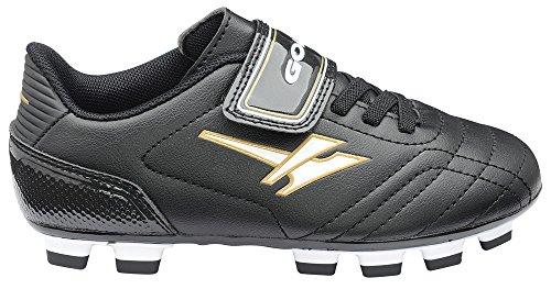 SFO , Chaussures de football pour garçon Noir