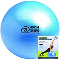 Fitness-Mad Swiss Ball with Pump & Online Guide