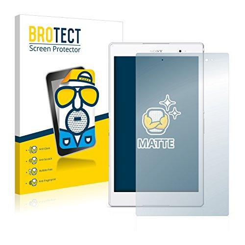 BROTECT Schutzfolie Matt für Sony Xperia Z3 Tablet Compact SGP621 [2er Pack] - Anti-Reflex, Anti-Fingerprint, Anti-Kratzer