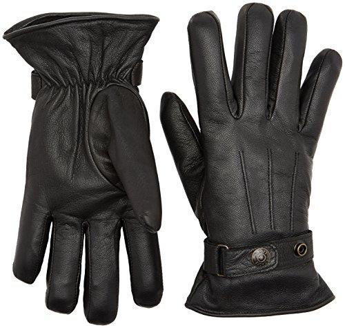 Schott NYC Herren Handschuhe GL1680, Schwarz (Black 90), X-Large (Nyc Leder)