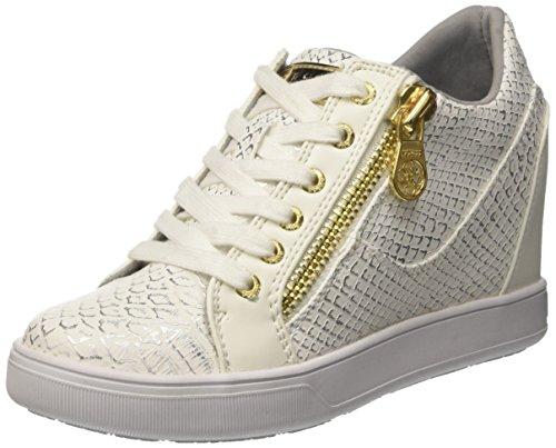 Guess Damen Footwear Active Lady Sneaker Weiß White, 40 EU Gucci White Sneakers